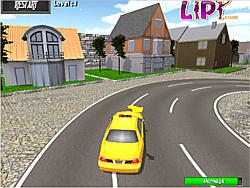 Permainan Taxi Parking 3d