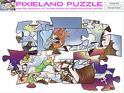 Gioca gratuitamente a Pixieland Puzzle