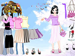 Eline Dress up game