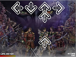 Warriors Orochi DDR game
