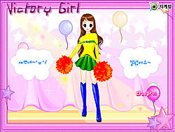 Victory Girl Dressup game