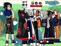 Maglaro ng libreng laro Naruto and Frieds Dress Up