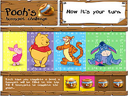 Pooh's Hunnypot Challenge oyunu