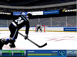 Super Slapshot 3D game