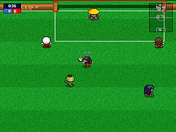 Ghost Soccer game
