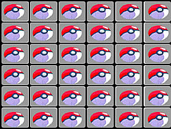 Pokemon Memory game