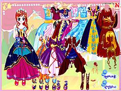 Princess in Costume game