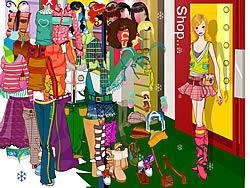 Gioca gratuitamente a Fashion Shopping Dressup
