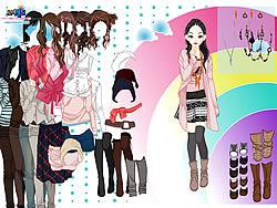 Rainbow Dressup 3 game