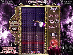 Crystal Wizard game