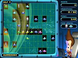 Jogar jogo grátis Jimmy Neutron: Alien Invasion
