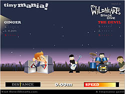 The Wildhearts Stage Dive game