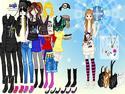 मुफ्त खेल खेलें Girl Emo Fashion