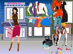 मुफ्त खेल खेलें Hot Fashion Shopping Girl