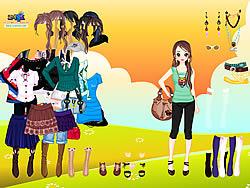 मुफ्त खेल खेलें Summer Beauty Dressup