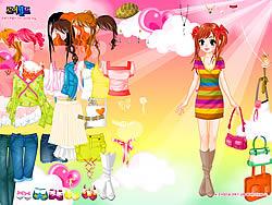 मुफ्त खेल खेलें Colorful Dressup