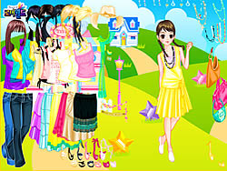 Gioca gratuitamente a House in Field Dress Up
