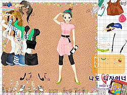 Belts and Jewels Dress Up game