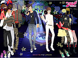 Party Couple Dress Up game