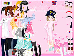 Gioca gratuitamente a Cute Baby Doll Dress
