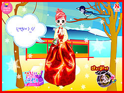 Korean Princess Dressup game