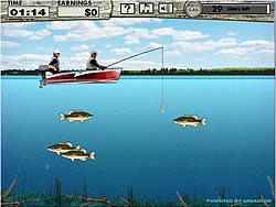 Permainan Bass Fishing Pro
