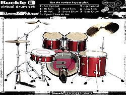 Virtual Drums game