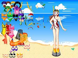 Beach Wear Dressup game