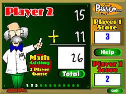 Maglaro ng libreng laro Math Adding
