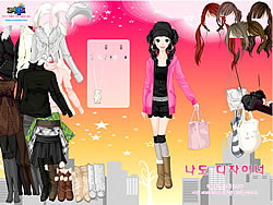 Skyline Dress Up game