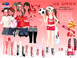 Permainan Sport Fan Dress Up