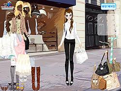 Front of Shop Dressup παιχνίδι