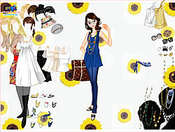 Top and Jeans Dress Up παιχνίδι
