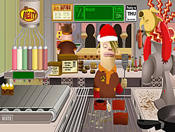 Permainan Mr.Meaty: Holiday Havoc