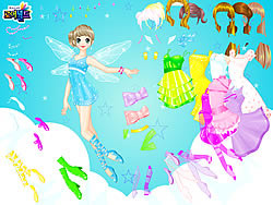Gioca gratuitamente a Fairy Naida Dressup