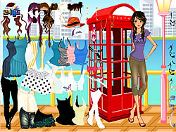Gioca gratuitamente a Phonebooth Dress Up