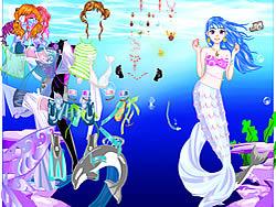 Gioca gratuitamente a Sea Girl Dressup