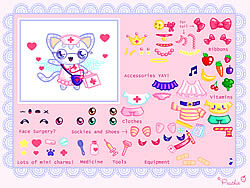 Gioca gratuitamente a Nurse Kitten Chan Dress Up