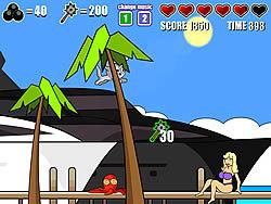 Castle Cat 2 - The Miami Invasion game