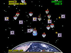 Massive Space Tower Defense game