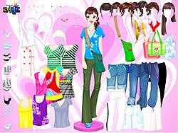 Gioca gratuitamente a Colorful Shirts Dress Up