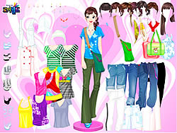 Colorful Shirts Dress Up game