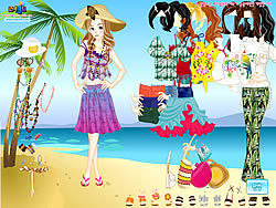 Miami Beach Dressup game