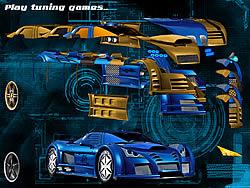 玩免费游戏 Blue Demon Car