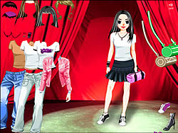 Stage Girl Dress Up game