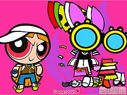 Dress Up Blossom game