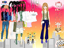 Mystery Date Dress Up game
