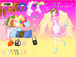 Fashion Angel Dress Up game