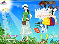Sunshine Dress Up game