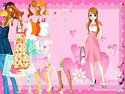 Gioca gratuitamente a Pink Heart Dressup